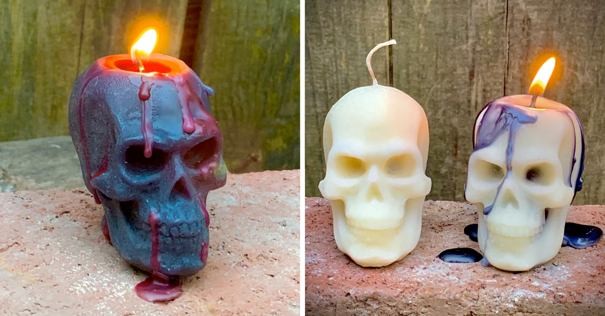 Fairy Skeleton Fairy Skeleton Candle:Skull Gifts Fall candles Halloween decor Skull decor Skull candle Spooky decor Halloween candles