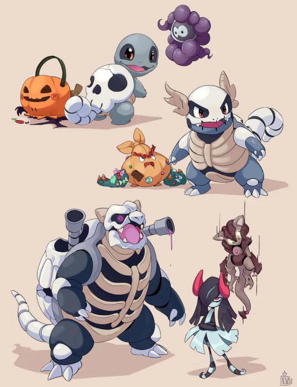Pokémon Reimagined As Ghost (18 Pics)
